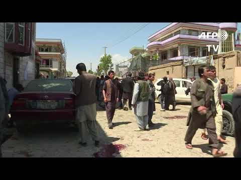 Suicide Attack Hits Voter Registration Center In Kabul