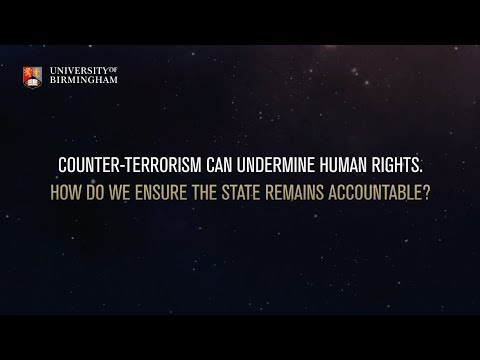 How do we ensure the state is accountable for counter-terrorism measures?