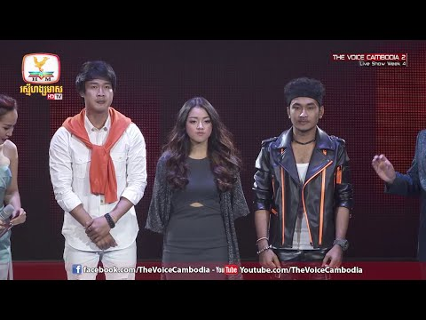 The Voice Cambodia - Result - Live Show 05 June 2016