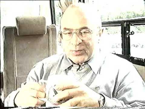 Bob Hoskins in a coach talking about film 'Rainbow'