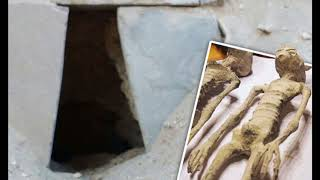 NAZCA MUMMY:  ALIEN OR HUMAN? New Finding!