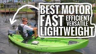 Bixpy Jet Motor Kit - Transom Mount For Kayaks, Canoes, & Boats