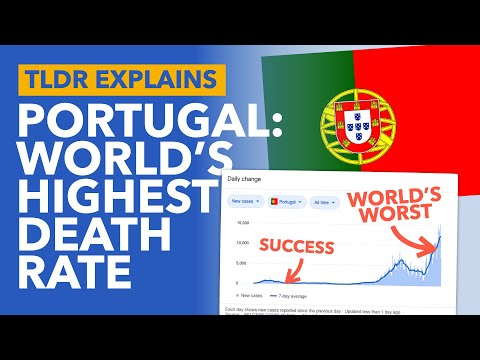 How Portugal went from COVID Gold Standard to the World's Worst - TLDR News