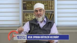 Helal Sporun Kriterleri Nelerdir? & Nureddin Yıldız