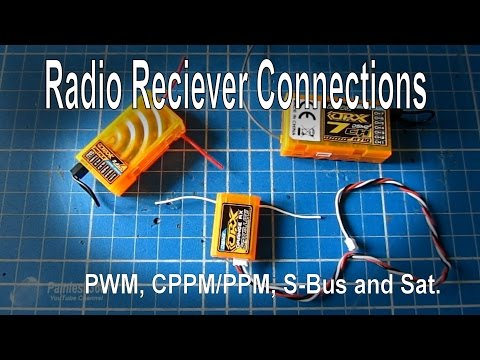 RC Quick Tip - PWM, PPM, CPPM, S-BUS and Sat. explained