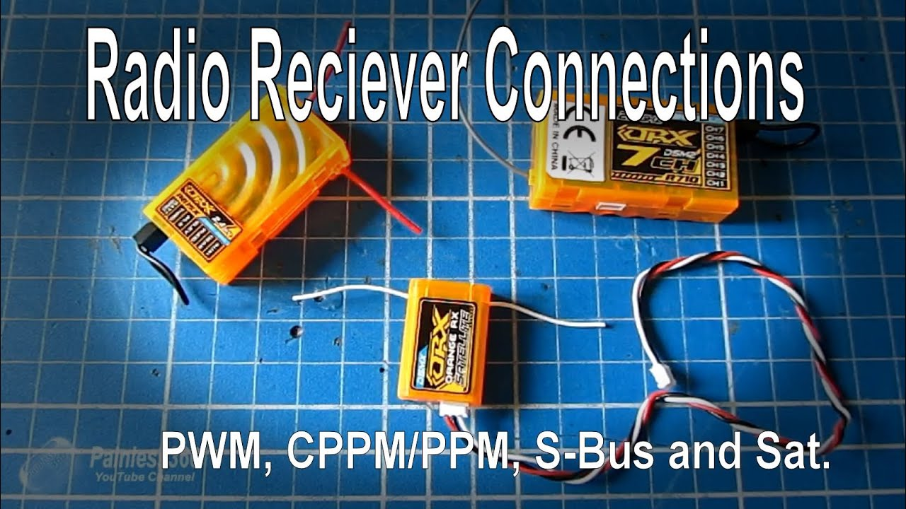 RC Quick Tip  PWM, PPM, CPPM, SBUS and Sat explained  YouTube