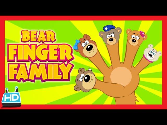 """Bear """"FINGER FAMILY SONG"""""""
