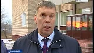 владимир Климов побывал с рабочим визитом в поселке Мурыгино(ГТРК Вятка)