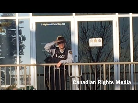 Canadian Rights Audit: Royal Canadian Mounted Police (Airdrie Station)