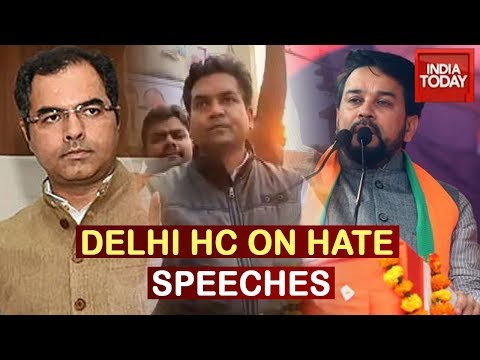 Delhi HC Pulls Up Cops For Taking No Action Against Hate Speeches