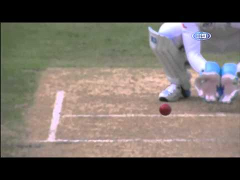 Steven Smith bowled by Monty Panesar