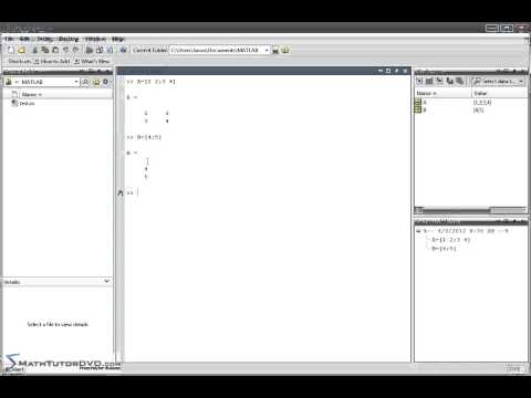 Matlab Essential Skills - Sect 50 - Solving Systems of Linear Equations