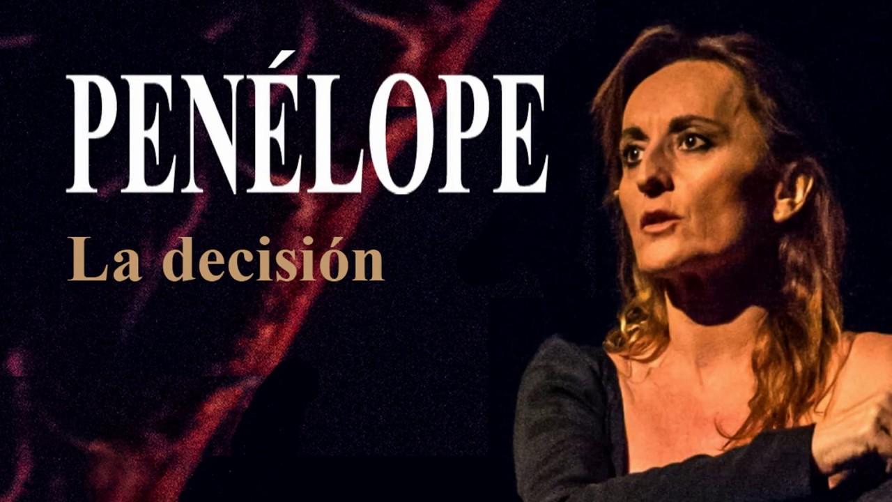 """Trailer de """"Penélope"""", con Esther Lozano. Guión y dirección Sandro Dieli"""