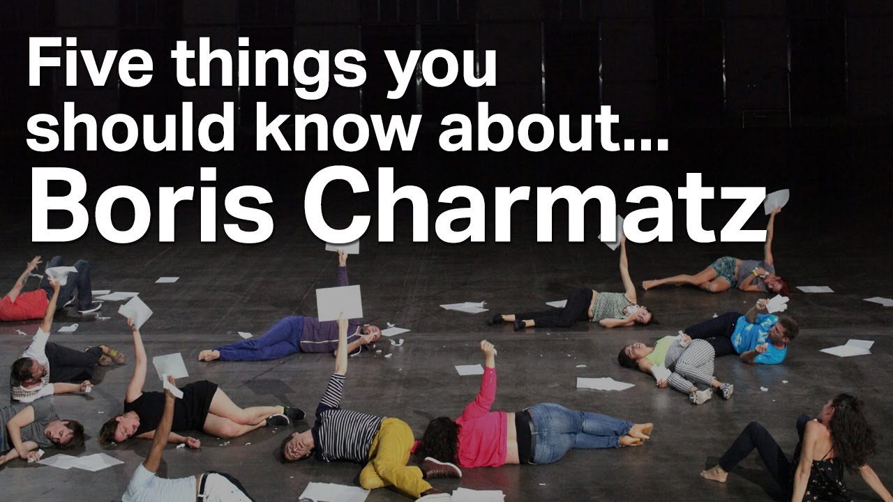 Five things you should know about... Boris Charmatz