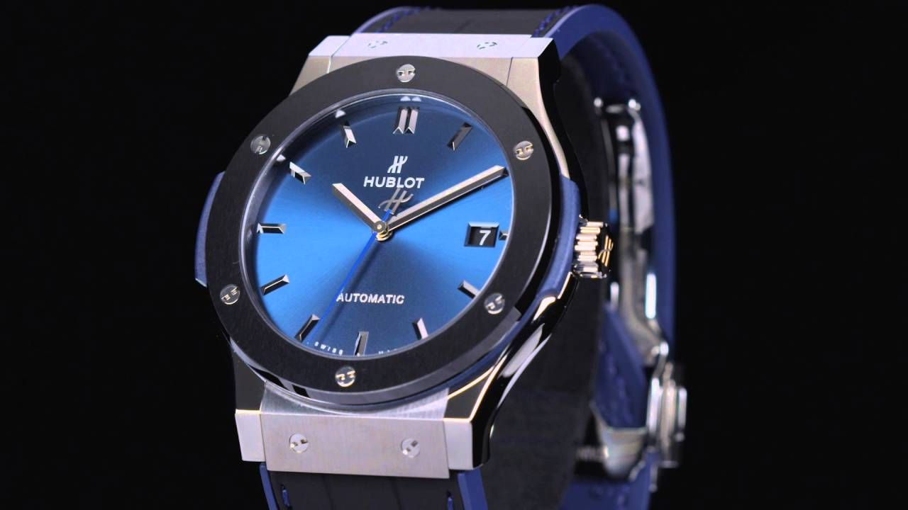 HUBLOT - CLASSIC FUSION - 45mm THE WATCH GALLERY