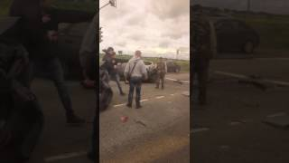 Авария в деревне Лаголово
