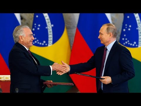 Putin and Temer pledge to strengthen trade and economic relations