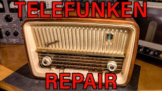 Telefunken Radio Receiver Electronic Troubleshooting And Repair!