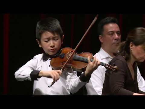 CHRISTIAN LI  Menuhin Competition 2018 Junior first rounds - day 2