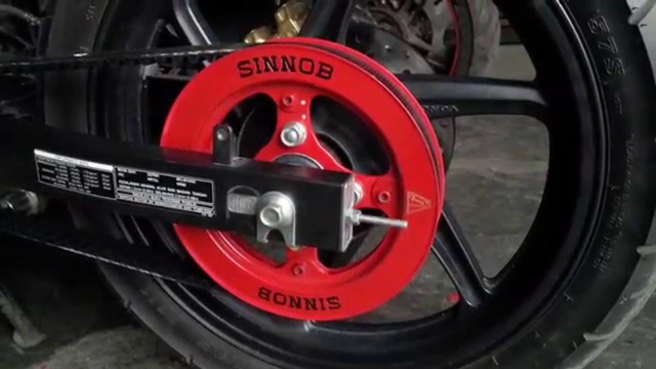 Test Belt Honda Cb150r Sf Knalpot R9 Full System New Mugello Cb 150 R Streetfire