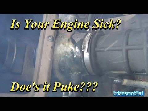 Is Your Motor Sick?  Does it Puke?