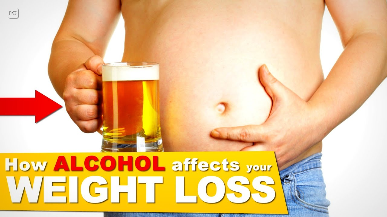 How Alcohol Affects the Liver & Body to limit your Weight ...