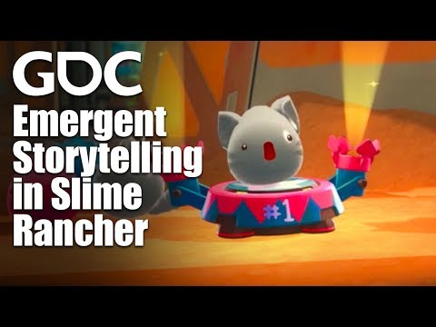 A Thousand Tiny Tales: Emergent Storytelling in Slime Rancher