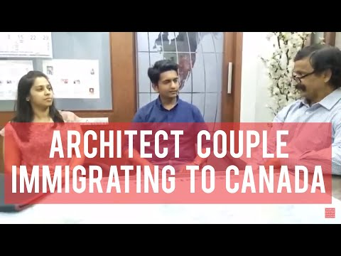 Our Canada PR Visa Got Architect Couple Sharing Joy With Manoj Palwe.(www.dreamvisas.com)