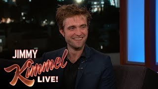 Robert Pattinson on Anxiety Over Howard Stern Interview