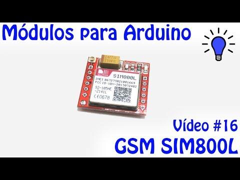 Módulos para Arduino - Vídeo 16 - GSM SIM800L