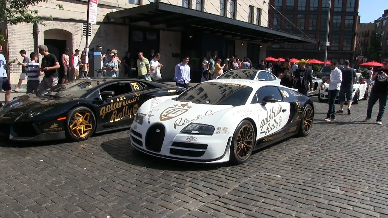 supercars in nyc lamborghini aventador bugatti veyron. Black Bedroom Furniture Sets. Home Design Ideas