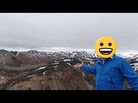 """To hell or paradise"" 946m Blahnukur, Highlands, Iceland, Landmannalaugar, Laugavegur, Iceland"