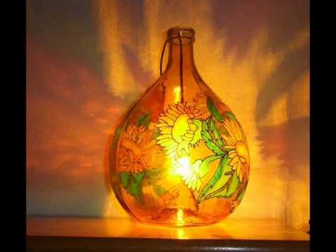 Lampade In Vetro Colorate : Lampada in vetro colorato vlab design