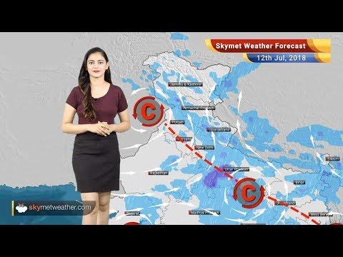 12 जुलाई मौसम पूर्वानुमान: दिल्ली, राजस्थान, मध्य प्रदेश में मॉनसून वर्षा