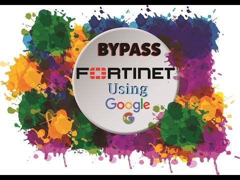 Bypass FORTINET in No Time and access blocked site - YouTube