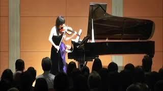 Sumine Hayashibara Violin Recital 6/8: Franck, Violin Sonata