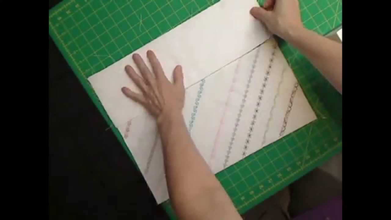 Make your own Sewing Machine Cover - Extended Version - YouTube