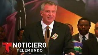 Dominicanos en New York reaccionan a declaraciones del alcalde | Noticiero | Noticias Telemundo