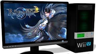 CEMU 1.4.0c Wii U Emulator - Bayonetta 2, Gameplay, Test Run on PC #1 Video