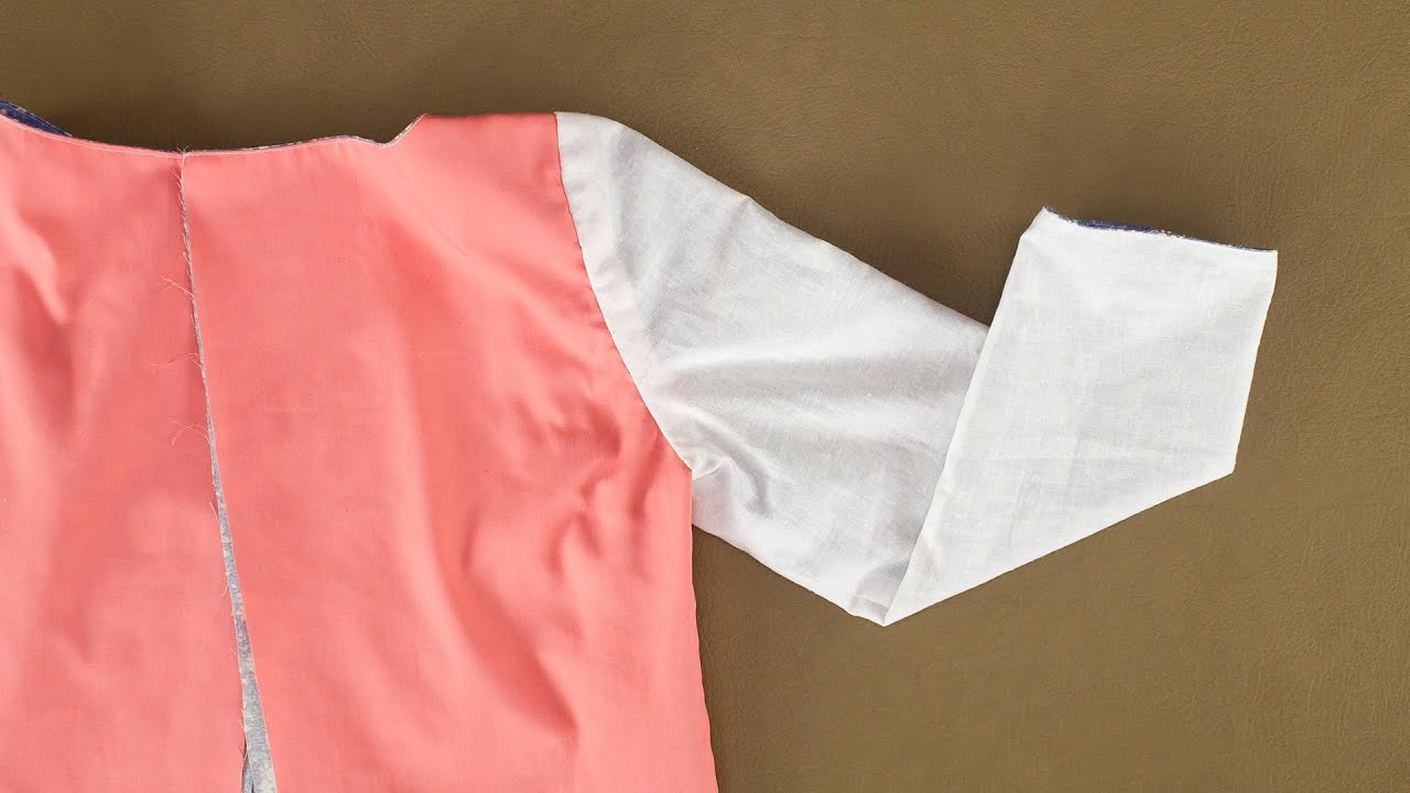 How to sew a sleeve 68