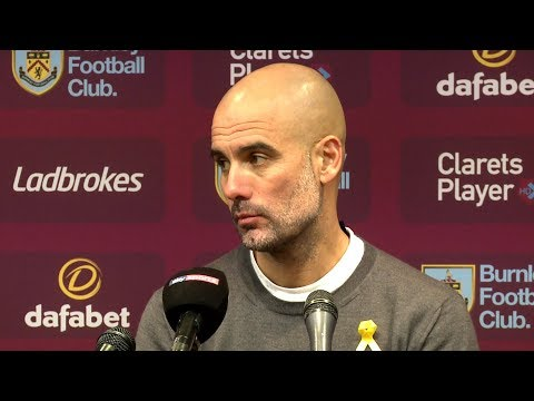 Burnley 1-1 Manchester City - Pep Guardiola Full Post Match Press Conference - Premier League