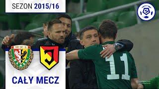 Śląsk Wrocław - Jagiellonia Białystok [1. połowa] sezon 201516 kolejka 32