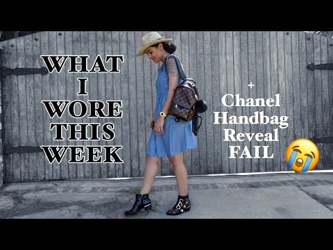 What I Wore This Week #1 + Chanel Handbag Reveal FAIL! | elle be |
