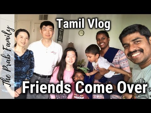 Guests Visit Vlog | Cooking Special Lunch | Chicken & Fish Recipes | USA Tamil Vlog | #theprabfamily