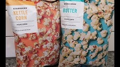 Starbucks Popcorn: Kettle Corn and Butter Review