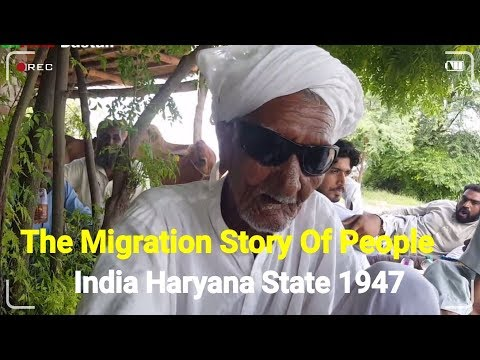 The Migration Tale Of Pepole The Haryana State 1947