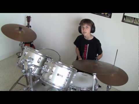 Imagine Dragons - Tip Toe drum cover by RyanT2020