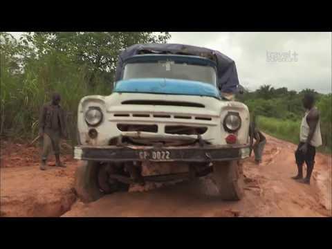 Самые Страшные и Жуткие Дороги в Мире 'Самые опасные путешествия Гвинея' - Видео приколы смотреть