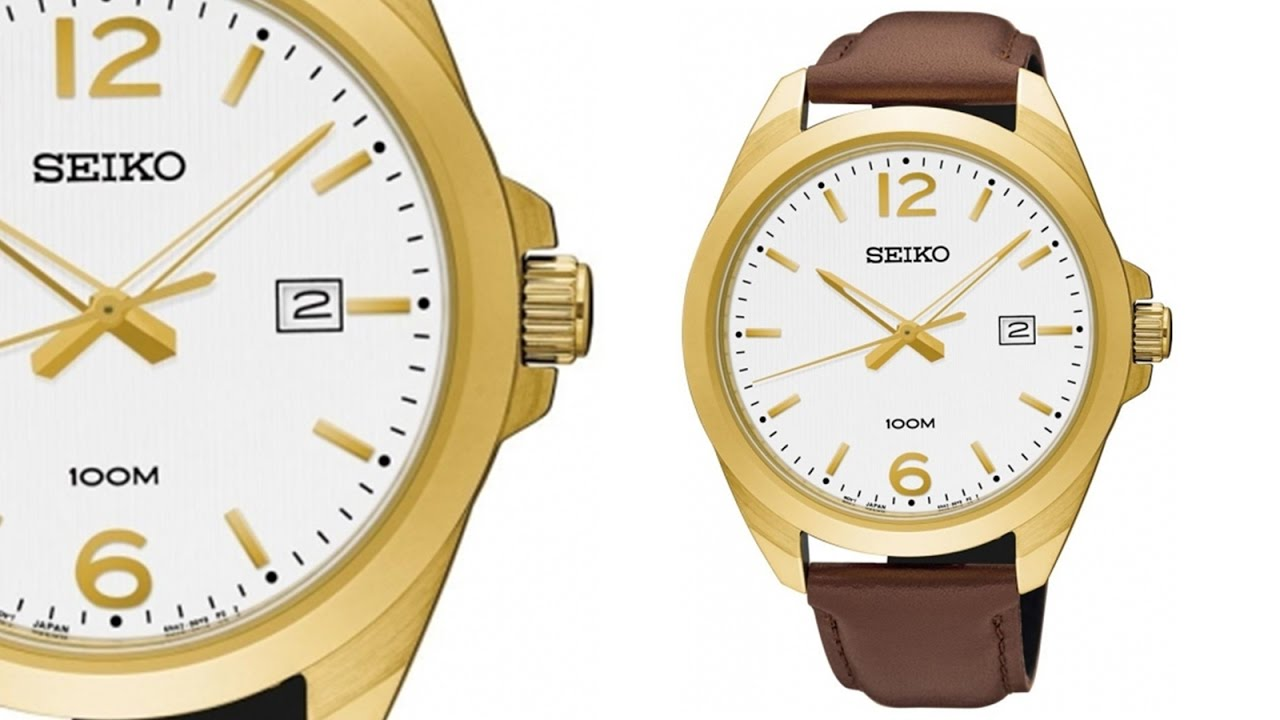 Seiko promóciós karóra  Dress Men SUR216P1 - Karóra Centrum - YouTube 195656dd07