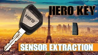 Hero Key Sensor Extraction